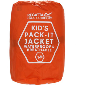 Regatta Pack It III Jacket Kids, blaze orange